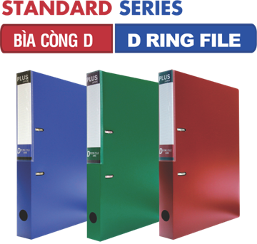 FILE CÒNG D - D RING FILE STANDARD SERIES